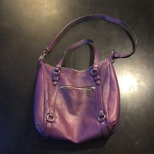 Coach Leather Hobo Bag, serial h1193-f17566